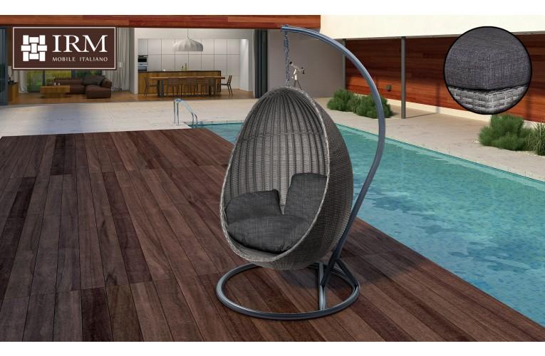 Подвесное кресло Cestino Grey