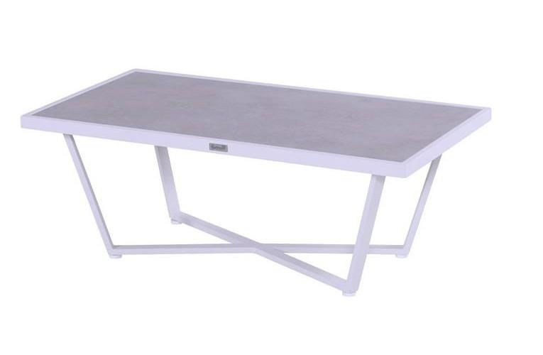 Столик Luxor White124 см