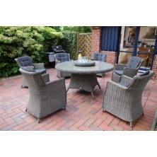 Обеденный набор LUNA Set vintage grey