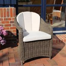 Обеденное кресло Malaga vintage brown