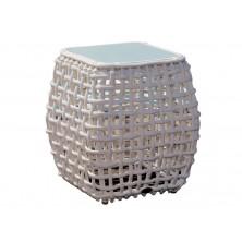 Приставной столик Dynasty White