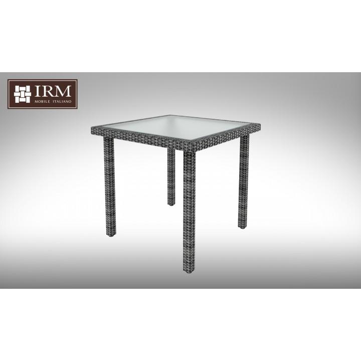 Стол Lepre Grey 80x80 см