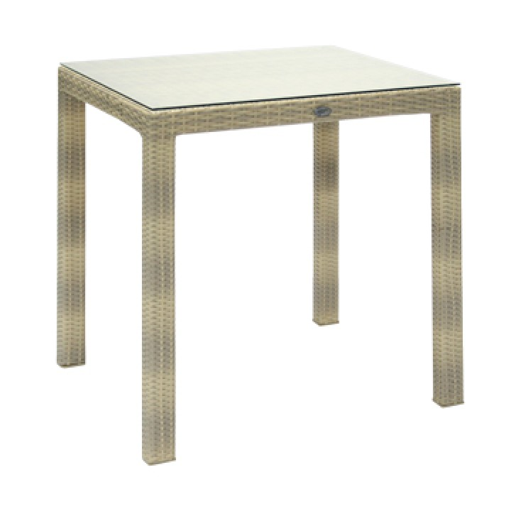 Стол 70х70 со стеклом VH056