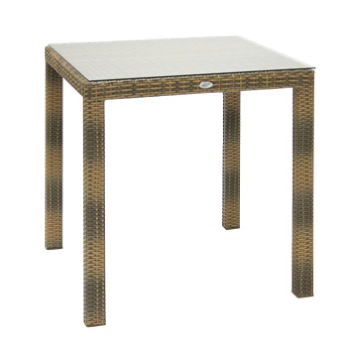 Стол 70х70 со стеклом VH058