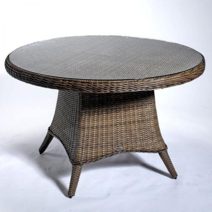 Стол LUNA vintage brown 120 cм
