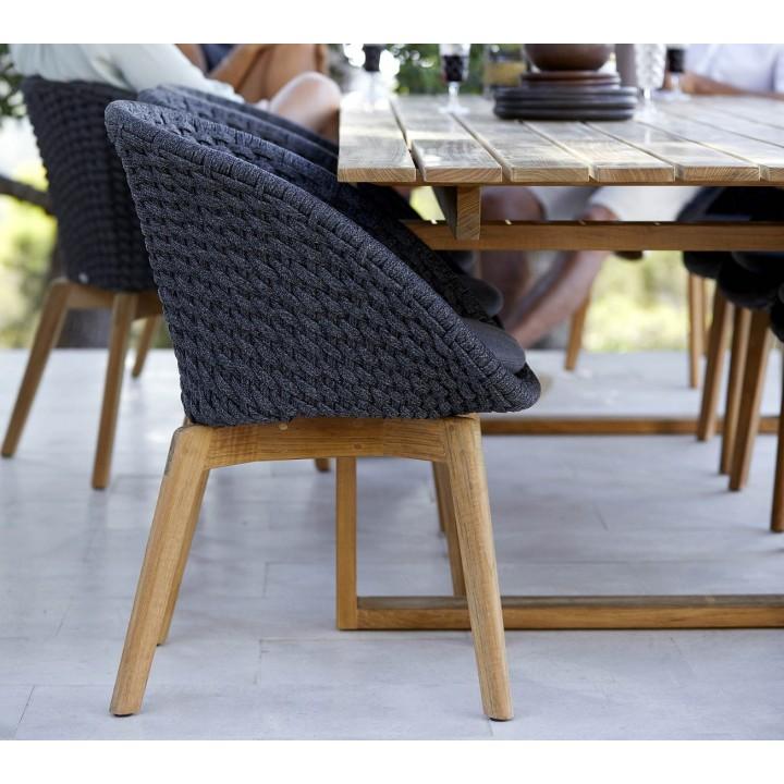 Обеденное кресло Peacock Rope