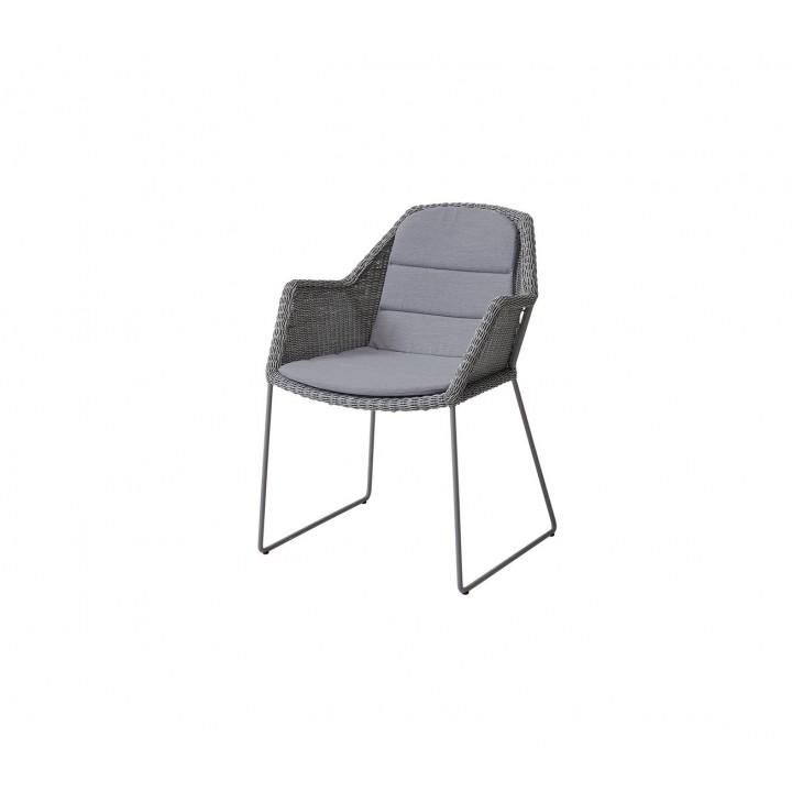 Обеденное кресло Breeze Light Grey