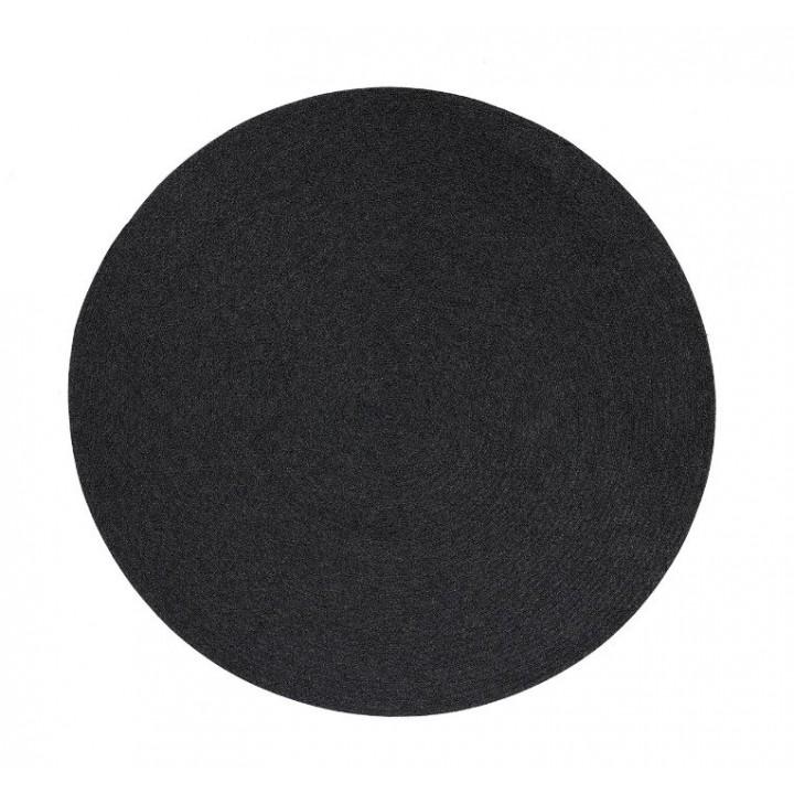 Ковёр для улицы Circle Dark Grey 140-200-240см