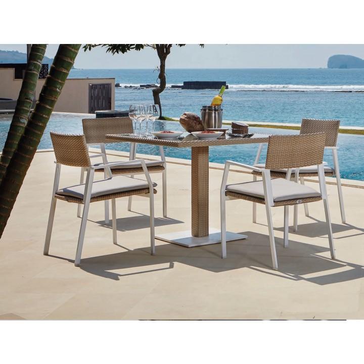 Стол обеденный Bistro 100x100 см