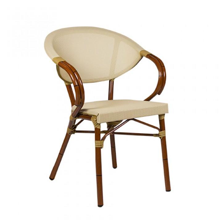 Кресло Marino classic bamboo/ beige