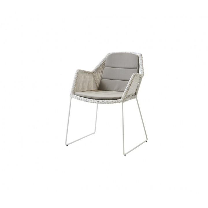 Обеденное кресло Breeze White Grey