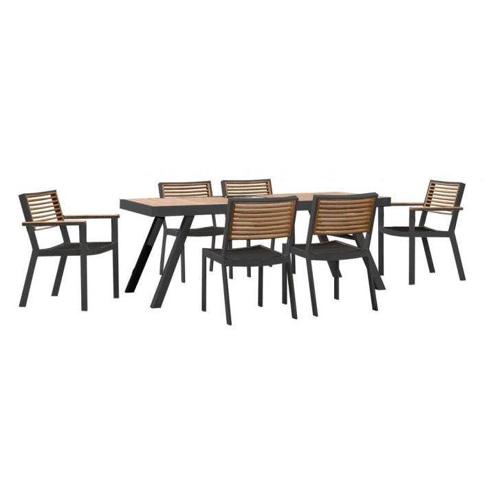 Обеденный набор York dining Black