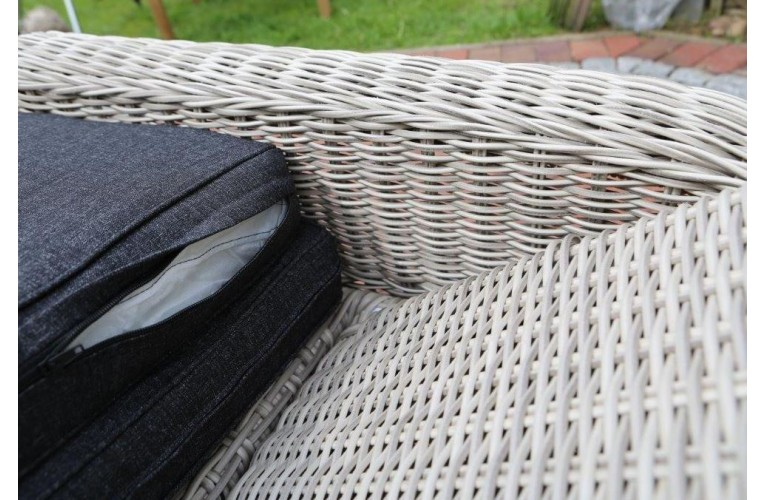 Шезлонг CASA vintage grau
