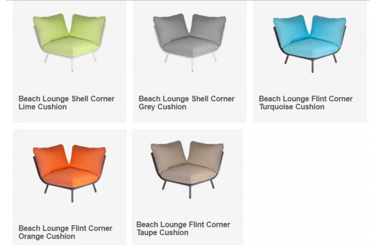 Модульная коллекция Beach Lounge