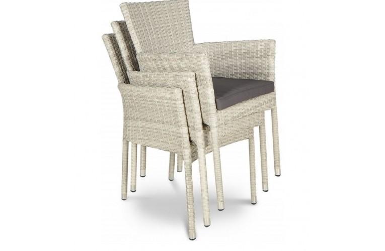 Кресло обеденное Lerida Modern White