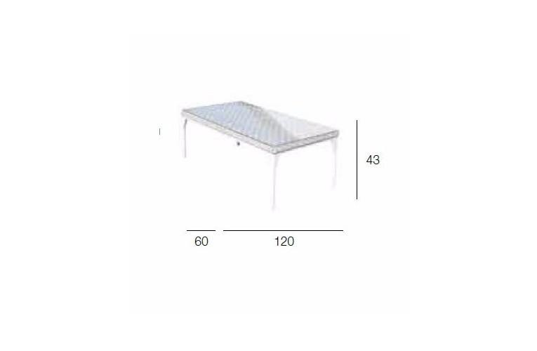 Столик Brafta 120 см