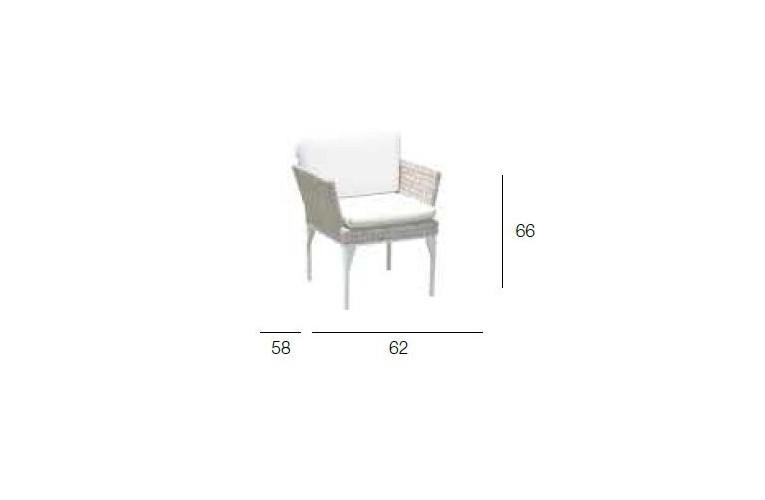 Кресло обеденное Brafta