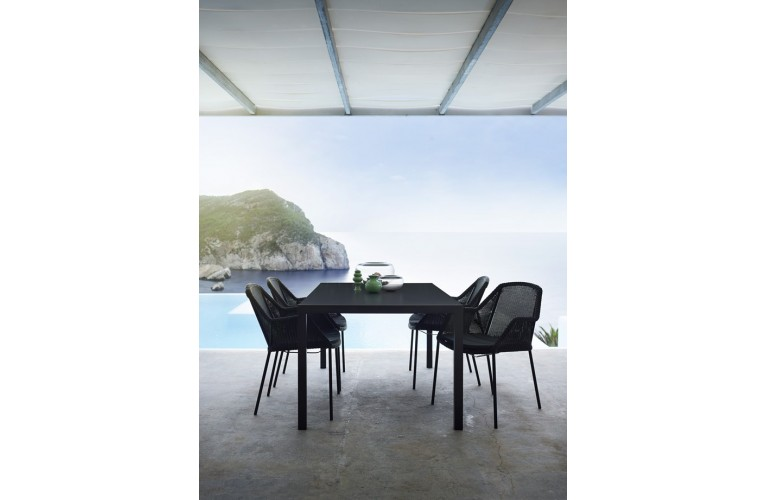 Обеденный стул Breeze White Grey