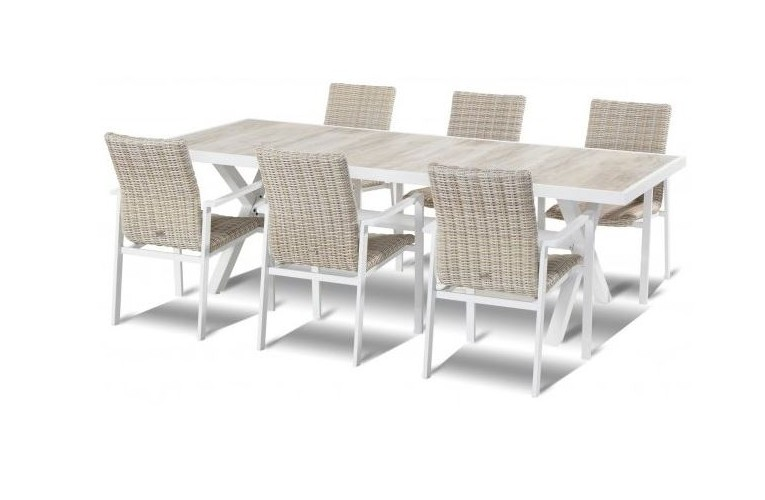 Стол Canterburry White 247 см