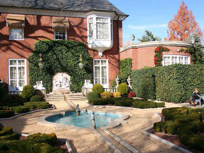 Французский садовый стиль