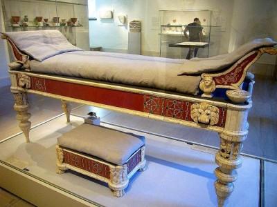 Ложе Люциуса Веруса - римского императора с 161 по 169 гг.