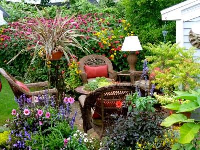 Английский пейзажный сад 3