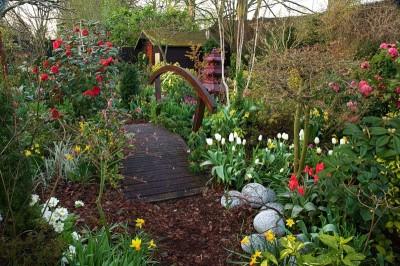 Английский садовый стиль